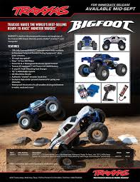 racing monster truck news u2013 new traxxas bigfoot r c monster trucks bigfoot 4 4 inc