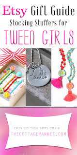 gifts for tween etsy gift guide stuffers for tween the cottage