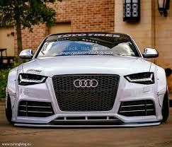 audi rs6 headlights wide audi a5 s5 coupe with black rs6 headlights tuningblog