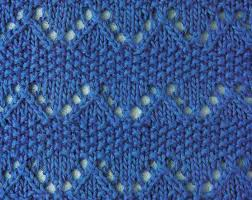 zig zag knitting stitch pattern zig zag and moss knitting stitch knitting kingdom