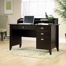 Sauder Graham Hill Computer Desk With Hutch by Amazon Com Sauder Shoal Creek Desk Jamocha Wood Kitchen U0026 Dining