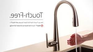kitchen faucets touchless best touchless kitchen faucet home design inspirations