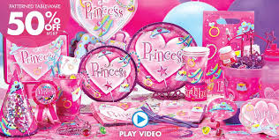 Princess Party Decorations Birthday Favors Party City Image Inspiration Of Cake And