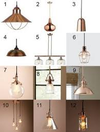 Pendant Lighting Copper Affordable Copper Pendant Lighting Options White Cabinets