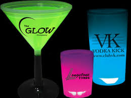 glow in the cups printed glow sticks