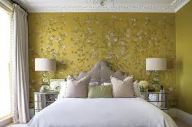 Hand Painted Wallpaper by Traditional Wallpaper Floral Chinoiserie Hand Painted