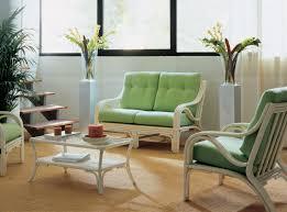 salon de veranda en osier fauteuil en rotin d u0027intérieur brin d u0027ouest