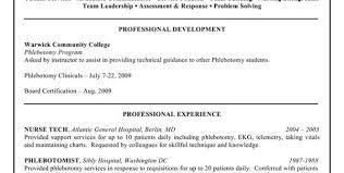phlebotomist resume example phlebotomy resume sample resume