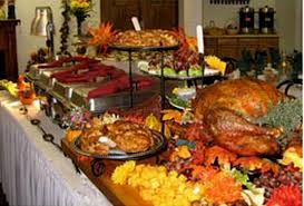 modern thanksgiving centerpieces buffet table decorating ideas dream house experience music more