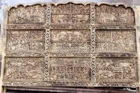 Indian Bed Furniture Indian Tribal Carving King Size Bed Head Furniture Australia