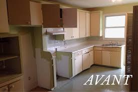 cuisine avant apr鑚 renovation avant apres beautiful rnovation duune cuisine par un