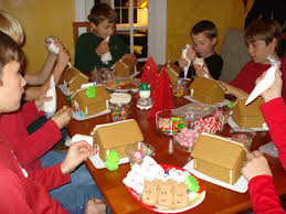 tis the season to host a gingerbread decorating