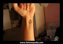 anchor wrist tattoo more information