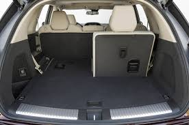 gmc yukon trunk space 2014 acura mdx interior cargo 02 half third row folded photo