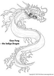 coloriage dragons chinois à colorier allofamille
