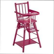 chaise haute b b en bois chaise haute chaise haute bebe bois alinea