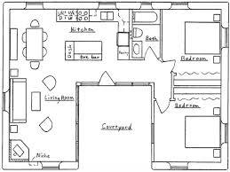 marvelous small u shaped house plans contemporary best