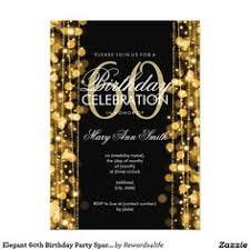 black gold bow 50th woman u0027s birthday invitation 50th birthday