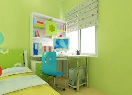green kids room curtains render 3d 3d house