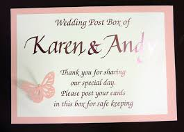 wishing box wedding inspired by script personalised signs for wishing wishing