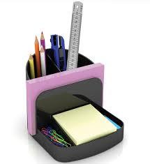 Purple Desk Organizers Office Desk Caddy In Desktop Organizers