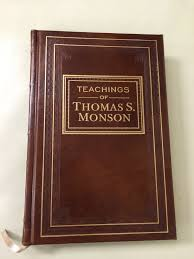 teachings of thomas s monson leather 2014 church employee