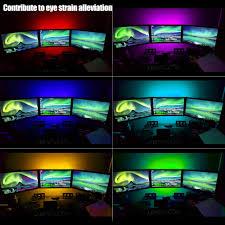 Multi Color Under Cabinet Lighting by Usb Rgb Led Tv Backlight Kit Led Strip Light Kit Torchstar