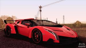 cars lamborghini veneno lamborghini veneno roadster lp750 4 2014 for gta san andreas