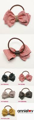 ribbon ponytail satin ribbon lovely ponytail holder hair accessories tie