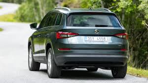 skoda kodiaq 2017 2017 skoda kodiaq rear hd wallpaper 4