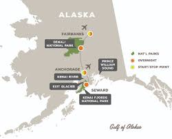Kenai Alaska Map by North To Alaska Off The Beaten Path