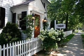 Restaurant Fencing by 1770 House Restaurant U0026 Inn East Hampton Ny 11937