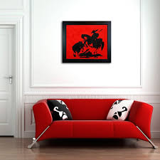 Living Room Wall Art Ideas 276 Best Red Room Images On Pinterest Red Red Rooms And Red
