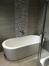 feature wall bathroom ideas bathroom design modern bathroom ideas grey tiles tile design