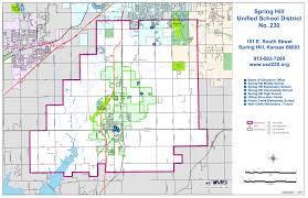 Ks Map City Maps Spring Hill Chamber Of Commerce