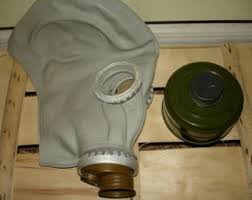 Halloween Gas Mask Costume Soviet Gas Mask Etsy