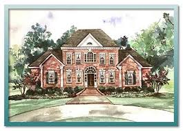 colonial style home plans house plans and home designs free archive colonial style