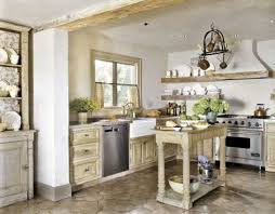 cozy shabby chic idea for sweet green kitchen design shabby chic