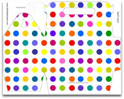 polka dot boxes polka dot party decorations free diy birthday party supplies