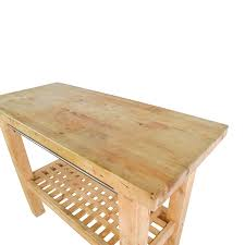 72 off ikea ikea butcher s block table tables buy ikea ikea butcher s block table online