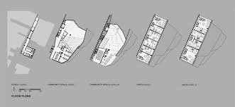 skyscraper floor plans gallery of proposal for new york skyscraper cantilevers lobby over