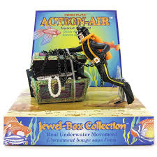 penn plax penn plax air treasure diver aquarium ornament