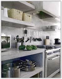 No Door Kitchen Cabinets Open Kitchen Cabinets No Doors Home Design Ideas
