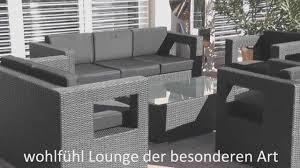 Gartenmobel Rattan Weis Rattan Lounge Gartenmöbel Polyrattan Designer Youtube