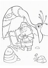 hold kevin bird baby u0027s disney coloring