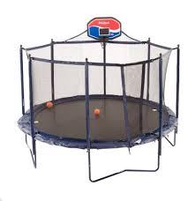 Safest Trampoline For Backyard by Trampoline Basketball Hoop Basketball Goals To Buy For Trampolines