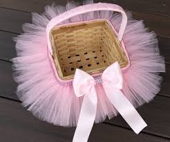princess easter baskets princess easter tutu basket flower girl basket tutu basket