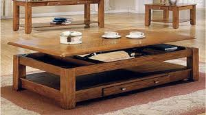 coffee table folding dining table with storage space saving