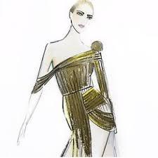 fashion illustration carla zampatti australian fashion designer
