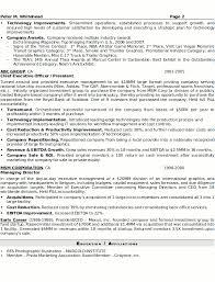Resume Format For Executive Sample Power Statement For Resume Uk Careers Jobseeker In Resume